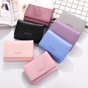 New Ladies Wallet Simple Purse Three Fold -