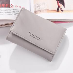 Nouveau Portefeuille Mesdames Simple Purse Three Fold -