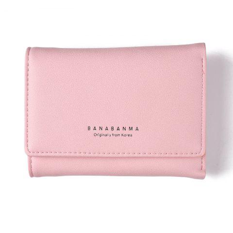 Nouveau Portefeuille Mesdames Simple Purse Three Fold