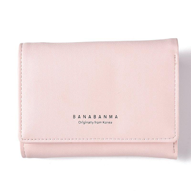 Affordable New Ladies Wallet Simple Purse Three Fold