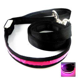 YWXLight Pet Dog Collar Luminous Dogs Leash Luminous LED Light -