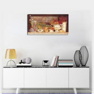 QiaoJiaHuaYuan No Frame Canvas Living Room Bedroom Dining Room Pastoral Landscape Painting -