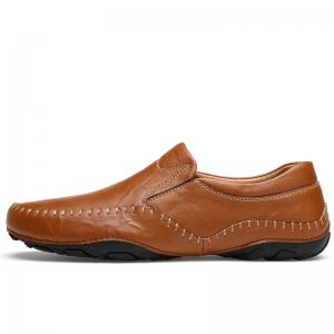 ZEACAVA Fashion Men's Spring Casual Business Leather Shoes -