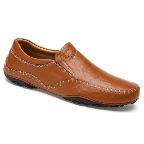 Affordable ZEACAVA Fashion Casual Business Leather Shoes for Men