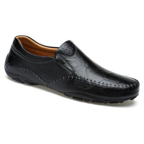 Chic ZEACAVA Fashion Men's Spring Business Leather Shoes