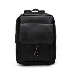 New Rucksack Shoulder Bag Fashion Men's Leather Backapack -