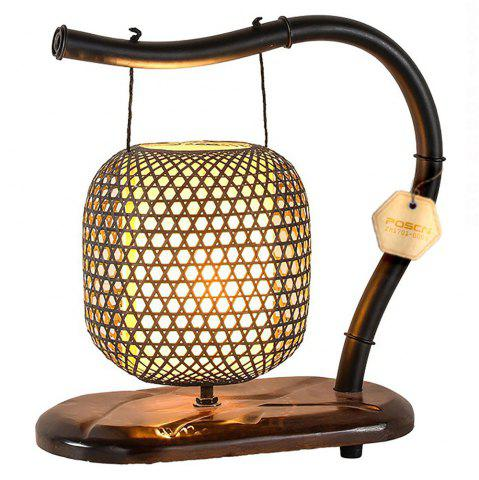 Fancy Chinese Classical Garden Bamboo Wooden Lamps
