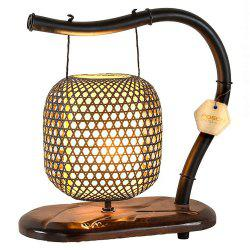 Chinese Classical Garden Bamboo Wooden Lamps -