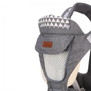 SUNVENO New Upgraded Baby Carrier Front Facing Hipseat Infant  Sling Backpack Pouch Wrap -