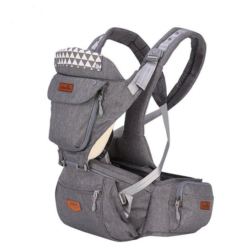 Hot SUNVENO New Upgraded Baby Carrier Front Facing Hipseat Infant  Sling Backpack Pouch Wrap