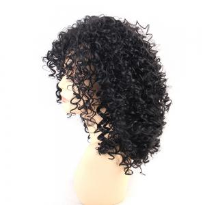 Wigs for Women Charming Black Medium Long Curly Hair -