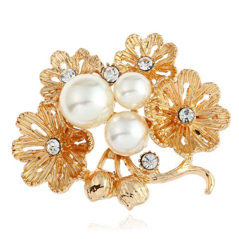 Chic Pop Goddess Daisy Pin Flower Brooch