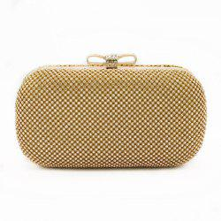 The bowknot Crystal Evening Bag Clutch Bags Clutches Wedding Purse Rhinestones Wedding Handbags -