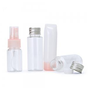 Lameila Empty Refillable Travel Bottle Makeup Tool 4PCS -