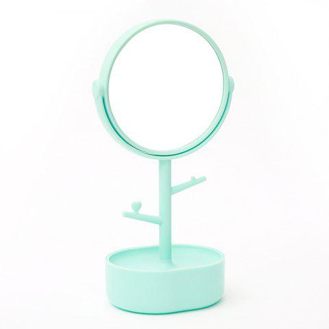 Chic Multifunctional Princess Jewelry Box High-definition Countertops Makeup Mirror