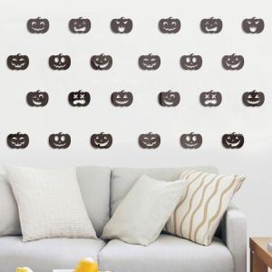Halloween Jack-O -Lantern Stickers Decorate Bedroom Living Room 20PCS -
