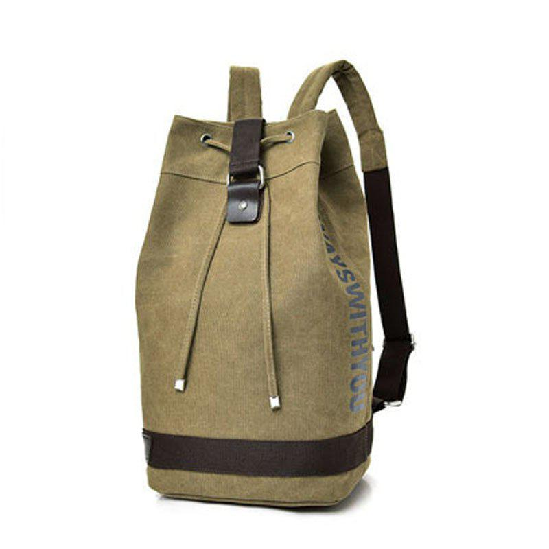 Outfit Canvas Sports Drum Bag Travel Computer Backpack Unisex