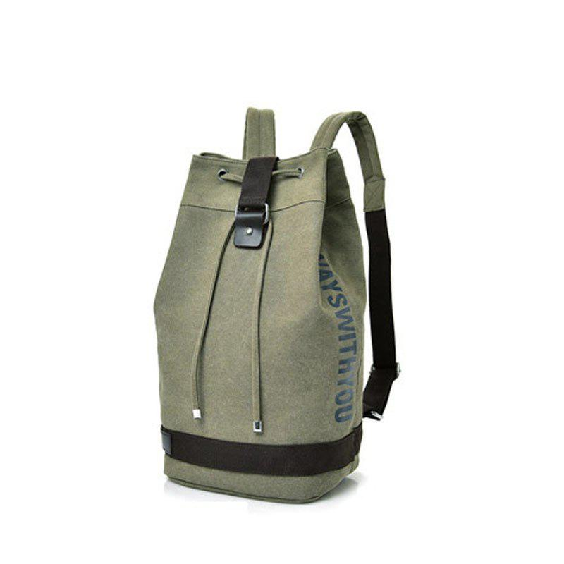 Chic Canvas Sports Drum Bag Travel Computer Backpack Unisex