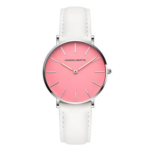 Latest Hanna Martin CF03 Quartz Waterproof Ladies Casual Slim Fashion Watch
