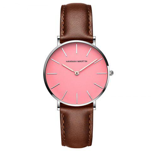 Fashion Hanna Martin CF03 Quartz Waterproof Ladies Casual Slim Fashion Watch