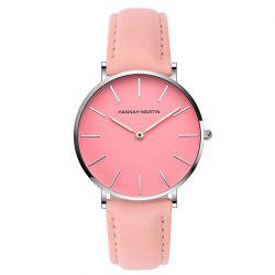 Hanna Martin CF03 Quartz Waterproof Ladies Casual Slim Fashion Watch -