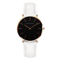 Hannah Martin CH36  Japanese Movement Waterproof Fashion Casual Ladies Quartz Watch -