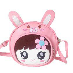 Girl Cartoon Cute Crossbody Bag -