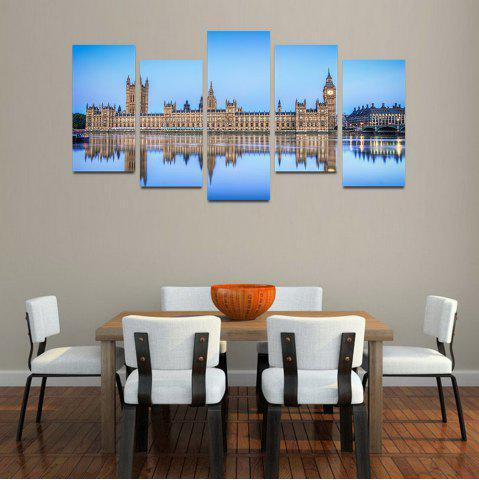 Sale MailingArt F033 5 Panels Landscape Wall Art Painting Home Decor Canvas Print