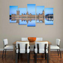 MailingArt F033 5 Panels Landscape Wall Art Painting Home Decor Canvas Print -