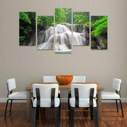 MailingArt FIV220  5 Panels Landscape Wall Art Painting Home Decor Canvas Print -