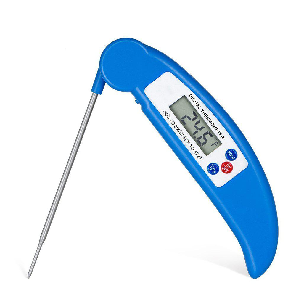 Chic Digital Electronic Instant Read Super Fast Food Cooking Thermometer with Collapsible Internal Probe