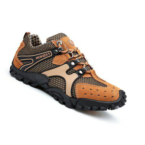 New Men Casual Hiking Fashion Outdoor Spring Sport Autumn Breathable Climbing Shoes