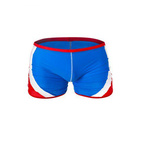 Модный мужской сундук Rapid Splice Square Solid Jammer Shorts Jammers Swim Suit