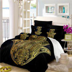 Faith Hand 3D Series Bedding Three and Four Pieces Set AS28 -