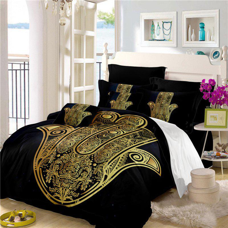 Shops Faith Hand 3D Series Bedding Three and Four Pieces Set AS28