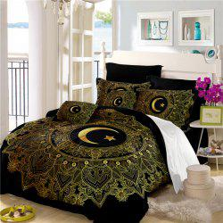 Moon Stars Personality 3D Bedding Series Three and Four Pieces AS29 -