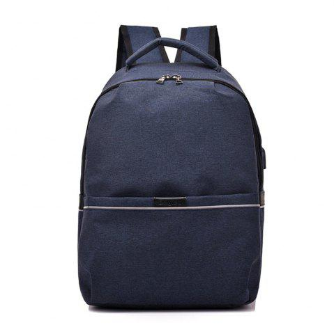Outfit Shoulder Canvas Waterproof High School Students Intelligent Charging Backpack