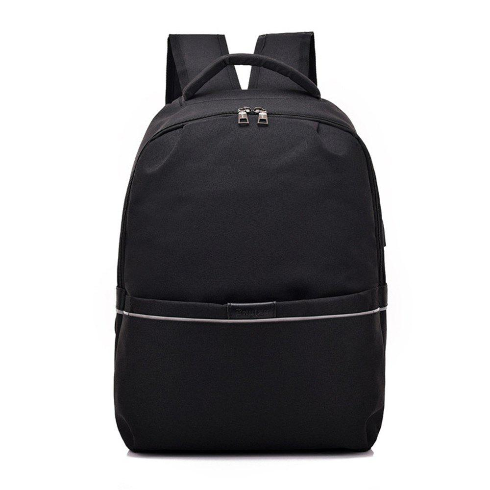 New Shoulder Canvas Waterproof High School Students Intelligent Charging Backpack