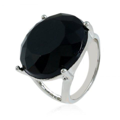 Discount Fashionable Popular Resin Texture Character Ring