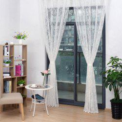 100 x 150cm Textile Venue Layout Decoration Hotel Curtain Partition Lace Curtains -