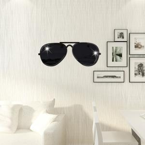 PS Mirror Stickers Minimalist Art Stickers Affixed Sunglasses Mirror Stereo Decoration Paste -