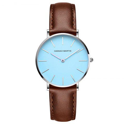 Latest Hannah Martin CL04 Japanese Movement Ladies Casual Fashion Waterproof Thin Quartz Watch