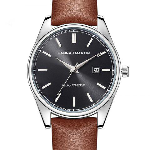 Shops Hannah Martin Men Sports Leisure Fashion Waterproof Calendar Quartz Watches