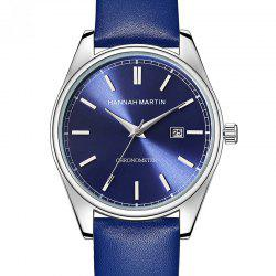 Hannah Martin Men Sports Leisure Fashion Waterproof Calendar Quartz Watches -