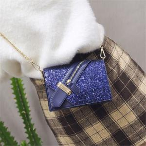 Women Zipper Messenger Bags Fashion Ladies Luxury Chain Shoulder Bag -