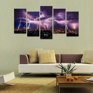 MailingArt F034 5 Panels Landscape Wall Art Painting Home Decor Canvas Print -