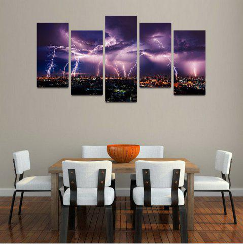 Store MailingArt F034 5 Panels Landscape Wall Art Painting Home Decor Canvas Print