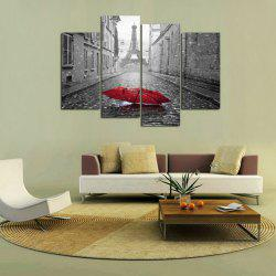 MailingArt FIV225  4 Panels Landscape Wall Art Painting Home Decor Canvas Print -