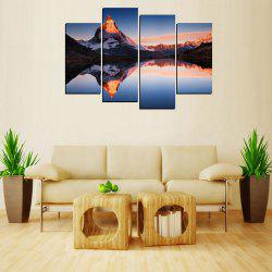 MailingArt FIV227  5 Panels Landscape Wall Art Painting Home Decor Canvas Print -