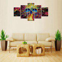 MailingArt FIV231  5 Panels Landscape Wall Art Painting Home Decor Canvas Print -
